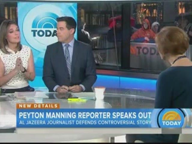 Репортер Аль-Джазіра захищає звіт Пейтона Меннінга HGH на Today Show