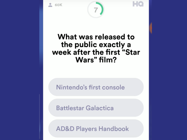 No One Won Last Night's HQ Trivia, But You Might Have Had A Shot