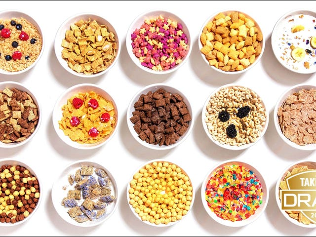 The Takeout's fantasy food draft: Best breakfast cereal