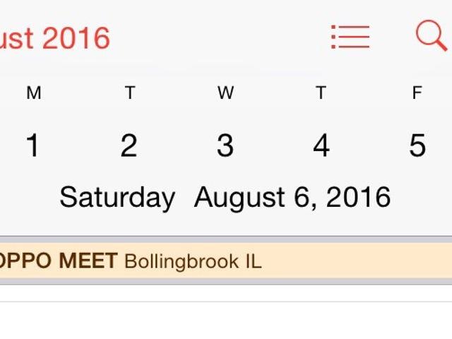 OppoMeet aura lieu les 6 et 7 août 2016