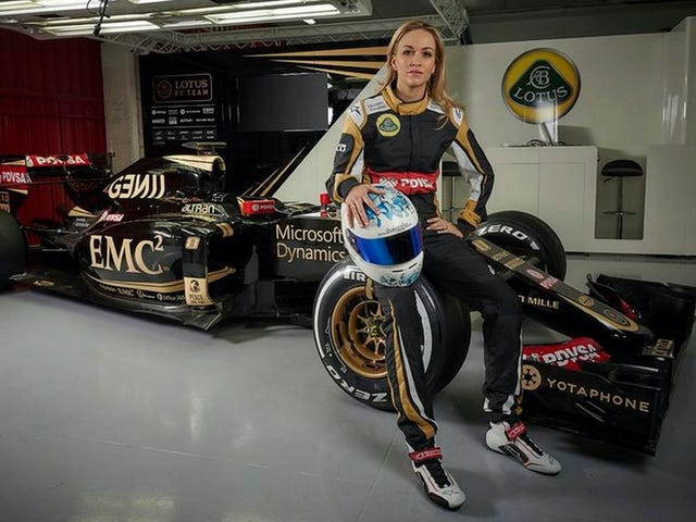 Stoppen Sie zu versuchen, die Frauen-nur F1-Reihe geschehen zu lassen