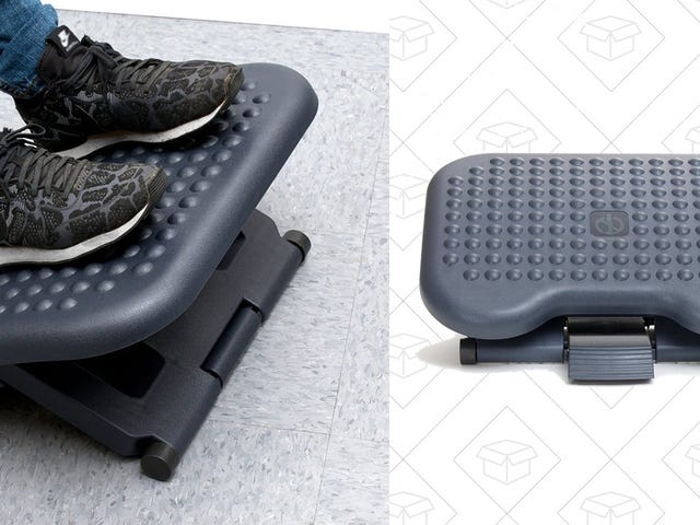 Relax At Your Desk Thanks To This $13 Footrest