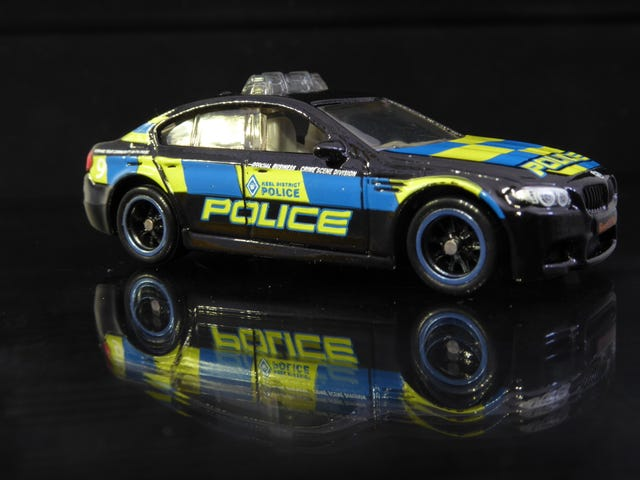 Hot Sixty 4th: A Colorful Teutonic Police car on a Tuesday