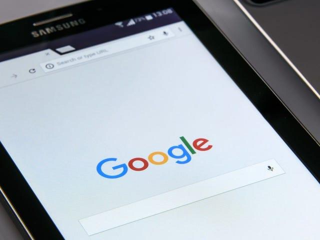 Miten Spot väärennetty osoitepalkki Chromeissa Androidissa