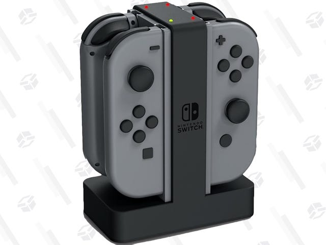 Keep Your Joy-Con Charged With This $16 Dock