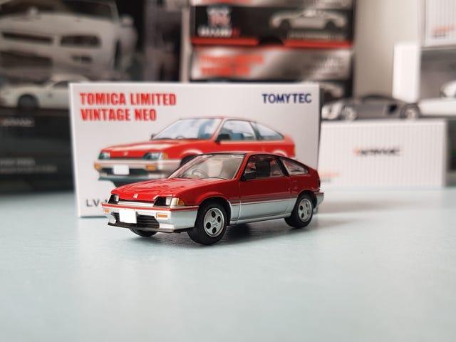 小时规则:微小的星期二 -  TLVN Honda Ballade CR-X