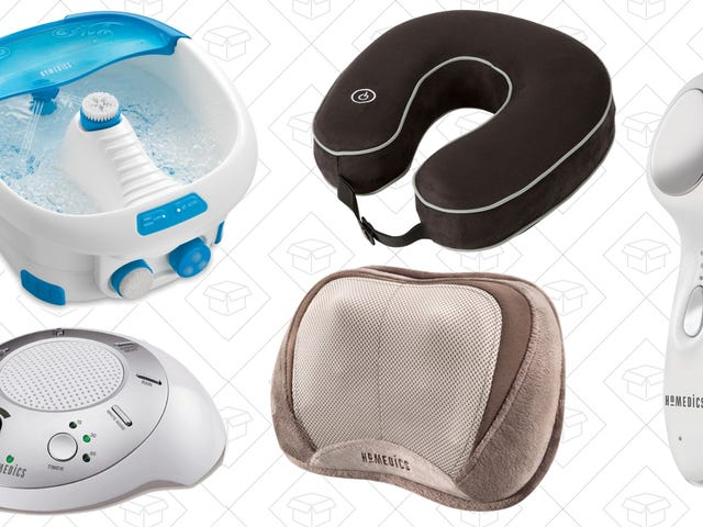 Bring Your Relaxation into the Future With This Homedics Spring Sale