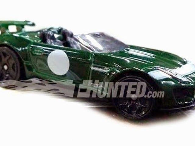 Jaguar, İngiliz Yeşil Proje 7 ile Hot Wheels'a geliyor