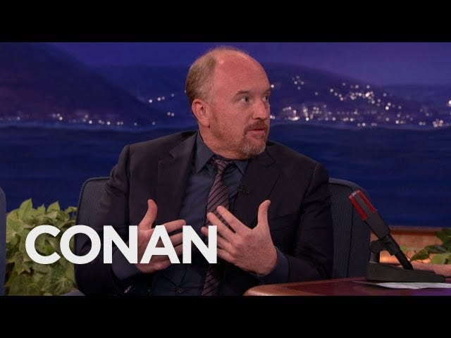 Louis CK Explains Why He's Quit the Internet