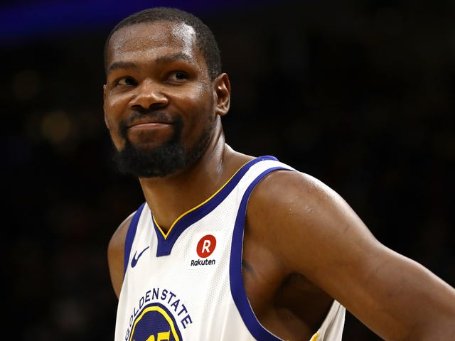 Kevin Durant Won The NBA Finals Tonight