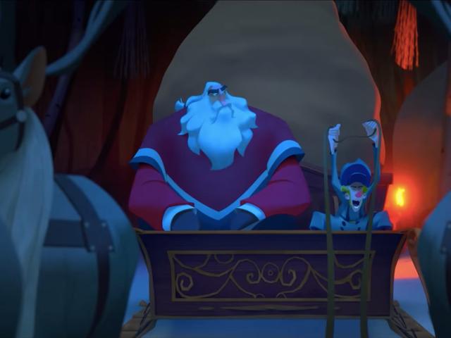 Netflix dropper trailer for julenisseopprinnelsen Klaus, den første animerte funksjonen