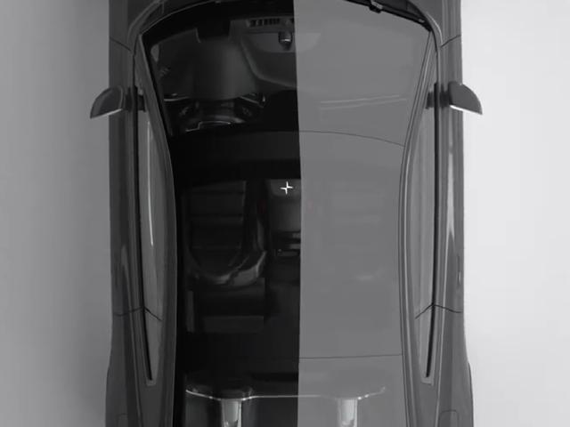 2020 Mustang Top View