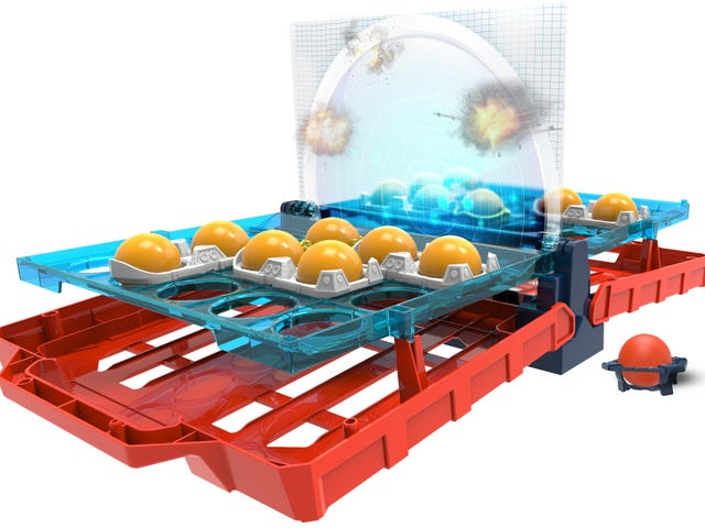 Hasbro Updated Battleship for the Beer Pong Generation