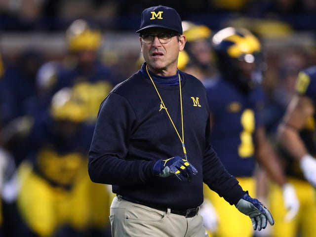 Jim Harbaugh And Luke Fickell Bicker About The James Hudson Transfer Saga