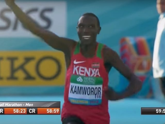 Geoffrey Kamworor Raced Ten Miles, Then Ran A 13:01 5K