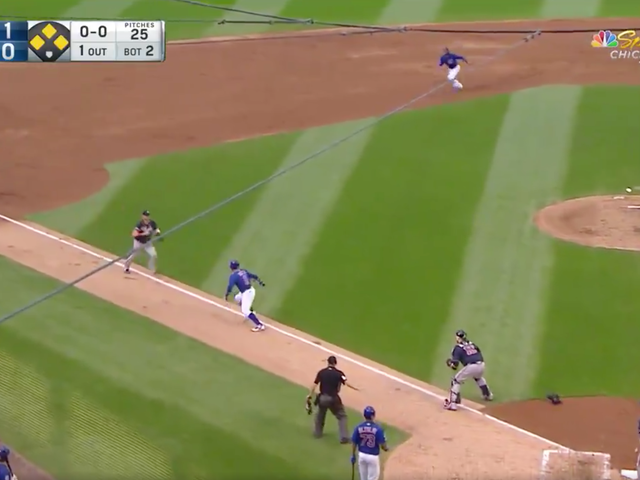 The Cubs Fell Ass Backwards Into A Very Dumb Double Play
