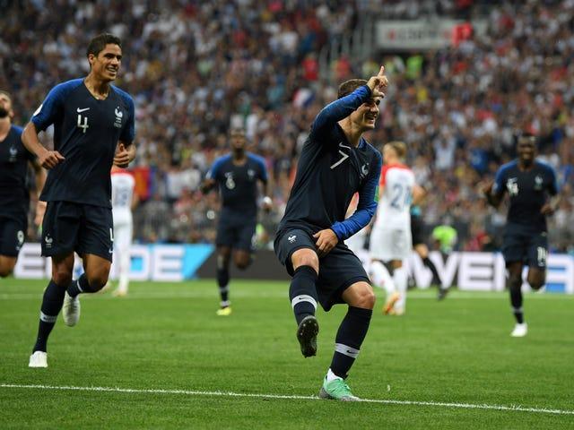 World Cup Player Celebrates Goal With Rude<i>Fortnite </i>Emote<i></i>
