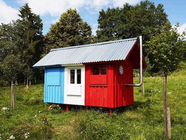 この小さな家は$ 1,200で、建設にわずか3時間かかります