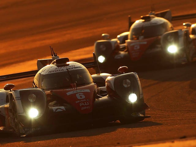 Toyota Commits To The WEC's Long Season With Two Le Manses