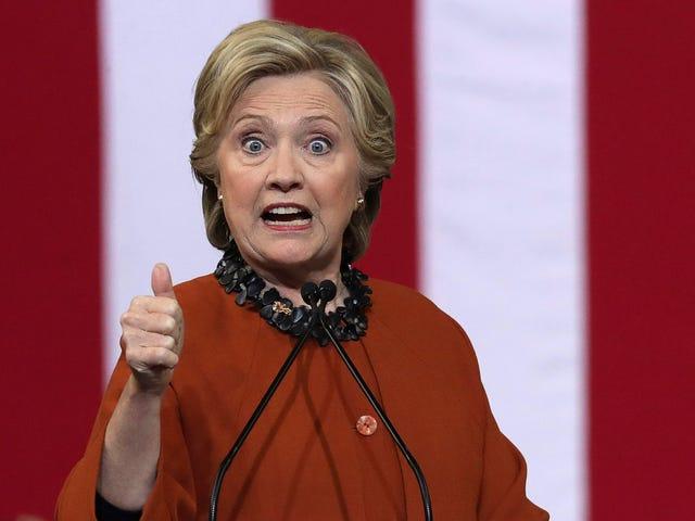 观看:希拉里克林顿关闭了伊万卡特朗普总统职位的可能性