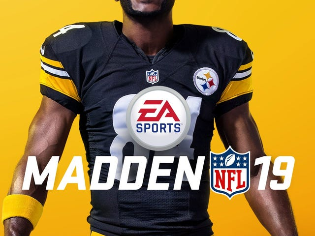Antonio Brown Is <i>Madden 19's</i> Cover Star