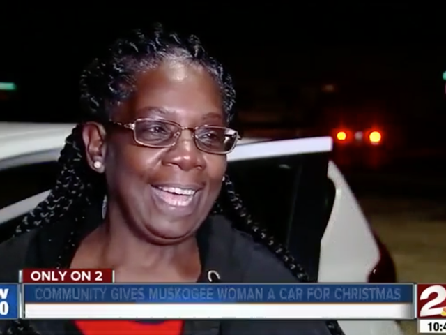 Oklahoma Community Surprises Beloved Walmart Greeter With a Car