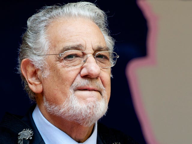 The Celebrations for Placido Domingo, Opera Star and Alleged Sexual Harasser, Are Extremely, Uncomfortably Elaborate