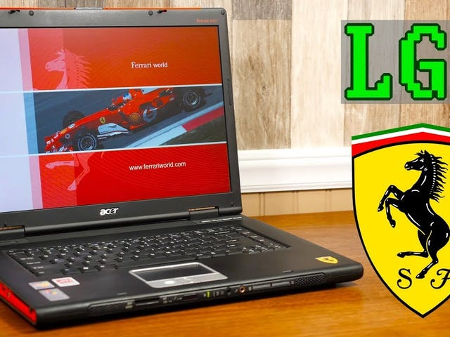 Acer Ferrari 4000: แล็ปท็อปราคา $ 2k ให้คุณได้อะไรในปี 2005