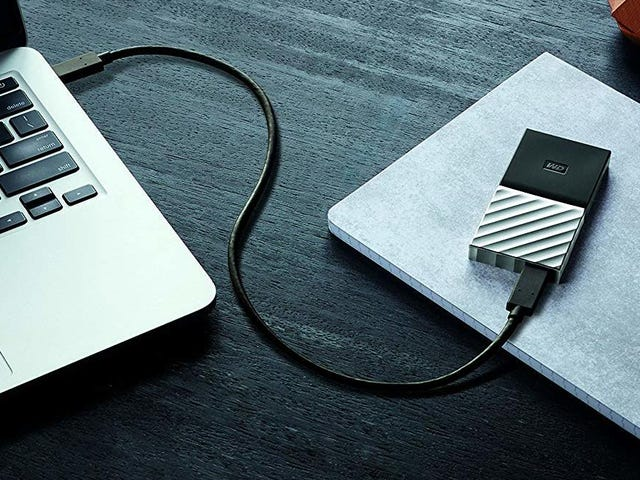 Slip This Portable SSD In Your Bag For the Best Price Ever