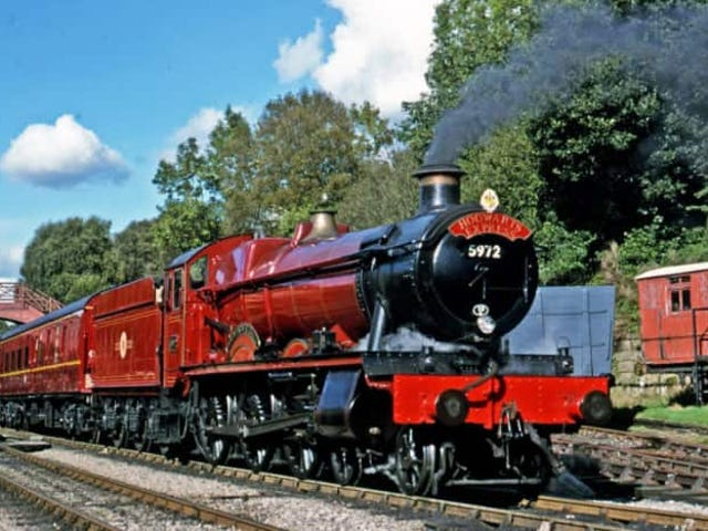 How the Hogwarts Express saved the steam engine