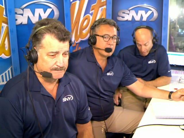 Mets ผู้แพร่ภาพกระจายเสียงออกอากาศในขณะที่ระลึกJoséFernández
