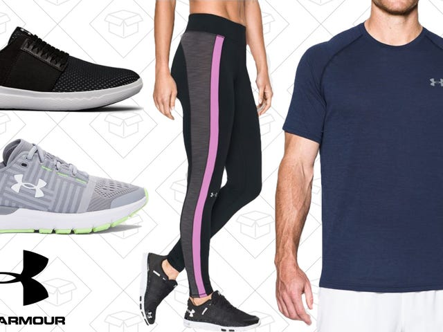 Under Armour Just Added Thousands of New Items To Their Semi-Annual Event