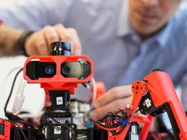 Estos robots locos son impresoras 3D que se construyen juntas