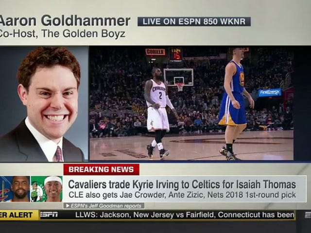 Cleveland Radio Caller Uses His Moment On <i>SportsCenter</i> To Talk About Host's Dildo
