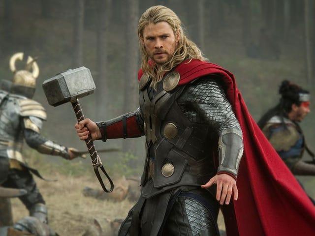 Pelakon yang bermain Thor adalah hampir superhero Marvel yang sangat berbeza: Gambit