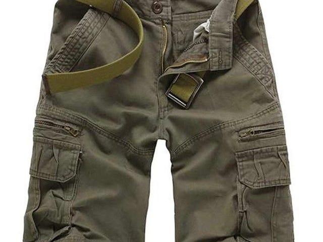 Shorts cargo de verano de 5 colores