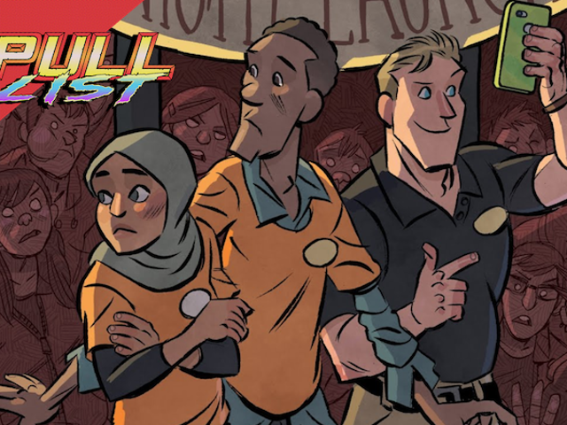 Lining Up for Phones and Avenging Your Family Are the Only Things to Do in This Week's Best New Comics