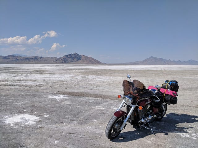 Motorcycle Road Trip, Days 2 and 3: Bonneville!