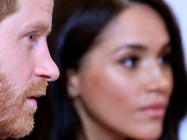 Wird der 'Royal' auch gehen?  Meghan und Harry könnten gezwungen sein, zusammen mit ihren Pflichten auf 'Sussex Royal' zu verzichten