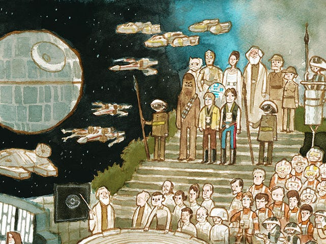 Tag Yourself in This Epic New Star Wars Poster