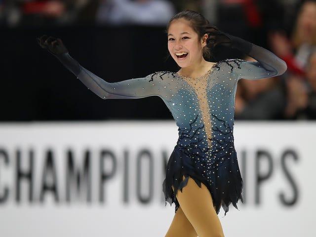 Liu, 13 ans, devient la plus jeune championne nationale américaine en patinage artistique féminin