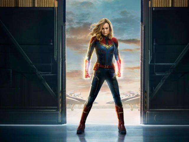 Capitana Marvel - Primer y Segundo Trailer