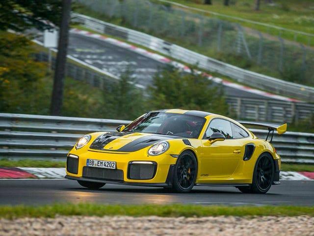 Porsche 911 GT2 RS cade un record di Lambo-Frush 6: 47.3 Nürburgring Time
