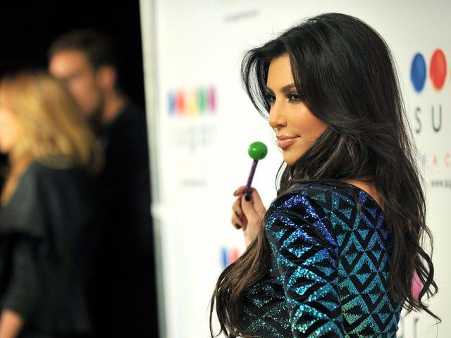 """Kim Kardashian West, """"iştahı bastırmak"""" için eleştirdi <em></em>  lolipoplar"""