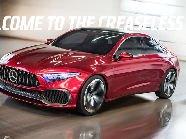 Mercedes Declares The 'Time Of Creases' Is Over With The Concept A