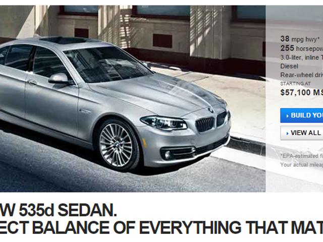Huolimatta korkeasta hinnasta BMW jatkaa meille dieseliä