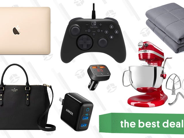 Friday's Best Deals: MacBooks, Lord of the Rings Extended, Weighted Blankets, and More