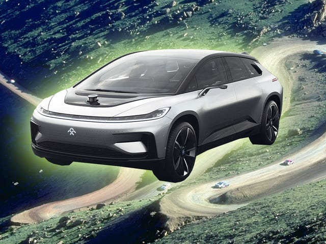 Electric Car Company (?) Faraday Future Will Race Pikes Peak This Year