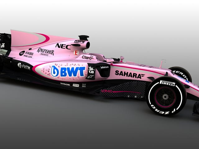 Formula One Goes Pink As Hell