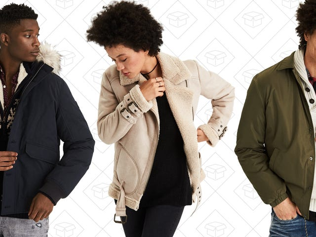 Solve All Your Outerwear Problems With 50% Off at American Eagle